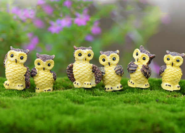 Mini Night Owl Figurine Set