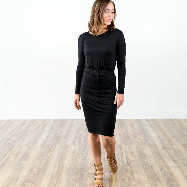 Nicole Dress in Black