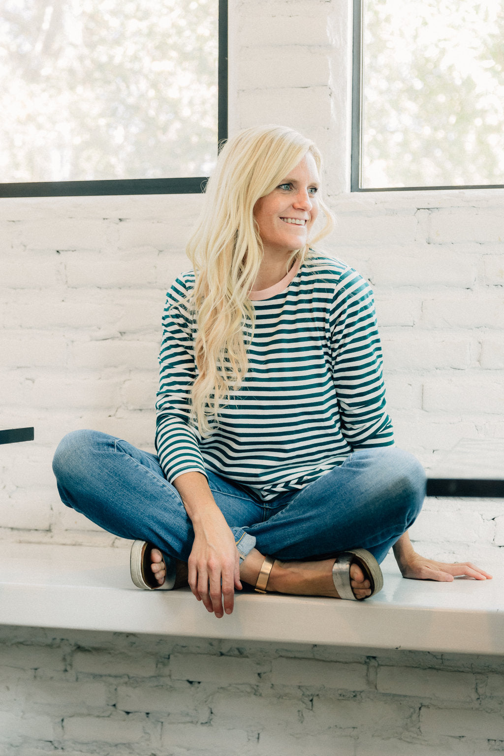 Falling For You Stripe Tee