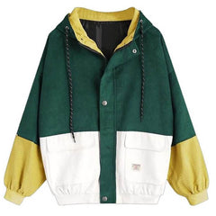 2.0 90s Kids Corduroy Hooded Jacket boogzel apparel