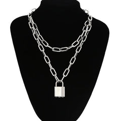 Shop Cadet Sass Lock Necklace at Boogzel Apparel Free Shipping