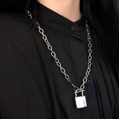 Shop Cadet Sass Lock Necklace at Boogzel Apparel