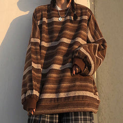 retro aesthetic outfit vintage sweater boogzel apparel