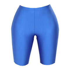 Buy 80s Kids Biker Blue Shorts at Boogzel Apparel Free Shipping