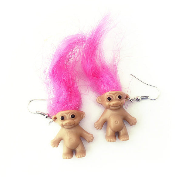 90's Fever Troll Earrings