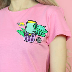 90s Bae embroidered Tee boogzel apparel