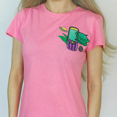 tumblr aesthetic t-shirt boogzel apparel pink