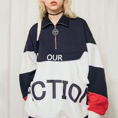 90s Kids Pullover fiction zipper boogzel apparel