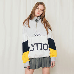 yellow 90s Kids Pullover fiction zipper boogzel apparel