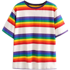 90s Kids Rainbow Tee at Boogzel Apparel Free Shipping