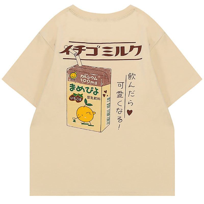 Aesthetic Milk T-Shirt