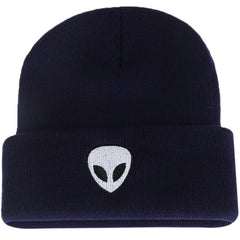Shop Alien Embroidered Beanie at Boogzel Apparel