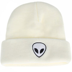 Buy Alien Embroidered Beanie at Boogzel Apparel