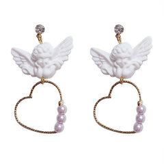 BB Angel Earrings at Boogzel Apparel