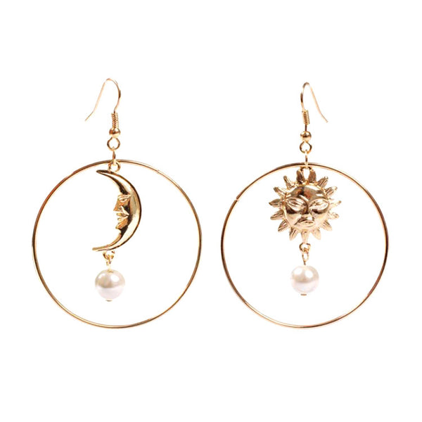 Balance of Sun & Moon Earrings