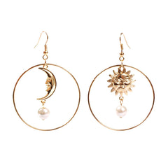 Shop Balance of Sun & Moon Earrings at Boogzel Apparel Free Shipping