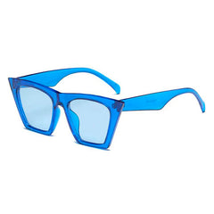 Shop Big Idea Sunglasses Blue at Boogzel Apparel