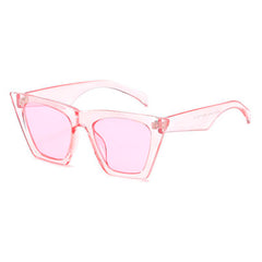 Shop Big Idea Sunglasses Pink at Boogzel Apparel