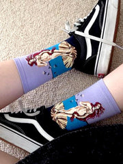 Shop Birth of Venus Botticelli Socks Boogzel Apparel