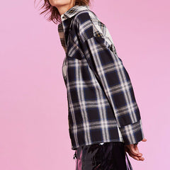 Boyfriend Check Shirt