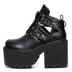 BUCKLE GRUNGE SANDALS boogzel apparel usa uk