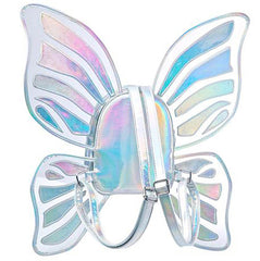 Shop holographic Butterfly Backpack  Boogzel Apparel
