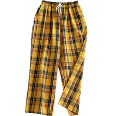 Casual Plaid Pants at Boogzel Apparel