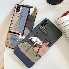 Cat's Life IPhone Case