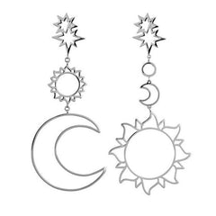 Celestial Magic Drop Earrings