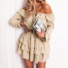 beige dress boho boogzel apparel