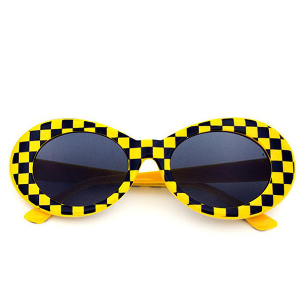 Checkered Cobain Sunglasses