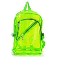 Buy Shop Clear Acid Backpack at Boogzel Apparel