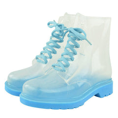 transparent rain boots boogzel apparel