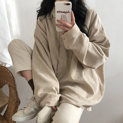 Cozy Up Cord Shirt