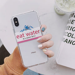 Eat Water IPhone Case