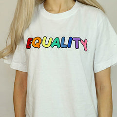 gay embroidery tshirt