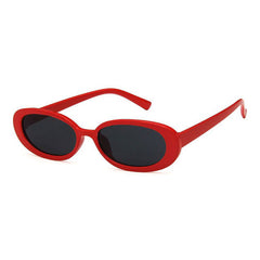 Buy Erin Oval Sunglasses at Boogzel Apparel Free Shipping Red