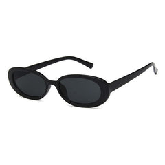 Buy Erin Oval Sunglasses at Boogzel Apparel Free Shipping Black