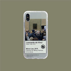 Famous For Being Famous IPhone Case mona lisa