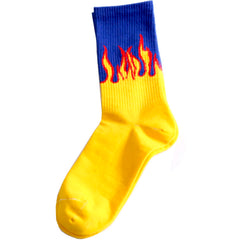Flames Socks at Boogzel Apparel