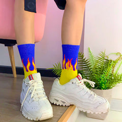 Buy Flames Socks at Boogzel Apparel