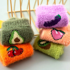 aesthetic fruit socks boogzel apparel