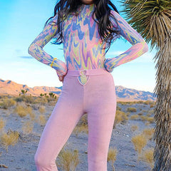 Gasoline Rainbow Bodysuit