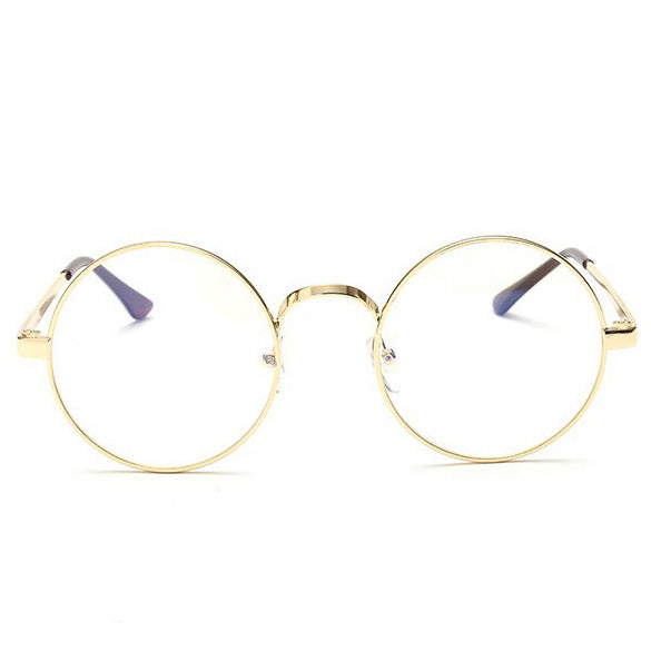 Geeky Round Clear Lens Glasses