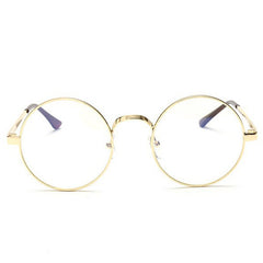 Geeky Round Clear Lens Glasses boogzel apparel