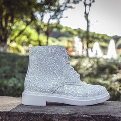 Shop Glitter Ankle Boots at Boogzel Apparel Free Shipping