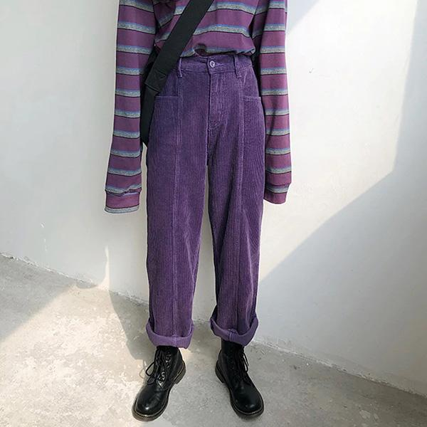 Take My Time Corduroy Pants