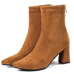 suede ankle boots boogzel apparel