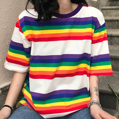 Rainbow t-shit boogzel apparel