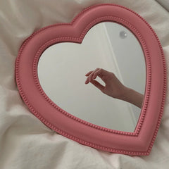 aesthetic heart mirror boogzel apparel